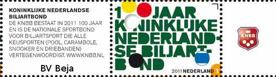 knbb-postzegel-2011