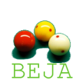 B.E.J.A. logo met ballen
