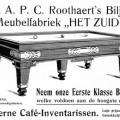 Stoombiljart- en meubelfabriek A.P.C. Roothaert Het Zuiden