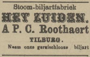 Roothaert - Echo van het Zuiden 12 januari 1921