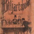 G.Theod. Bom - De Bekwame Biljartspeler (1850)
