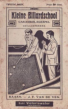 JF van de Ven - Kleine Billardschool carambolagespel (1908)