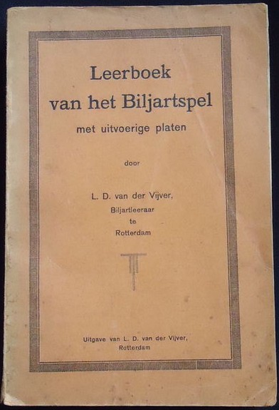 Louis van den Vijver - Leerboek van het Biljartspel (1925)