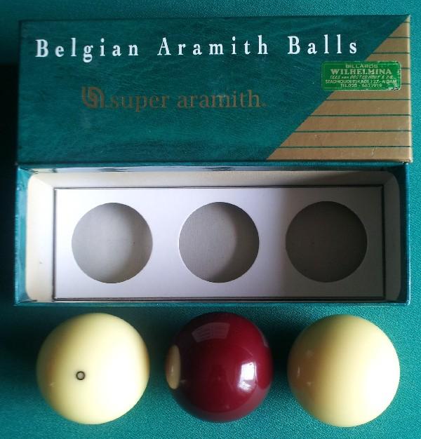 Super Aramith biljartballen