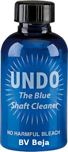 Undo the Blue Shaft Cleaner